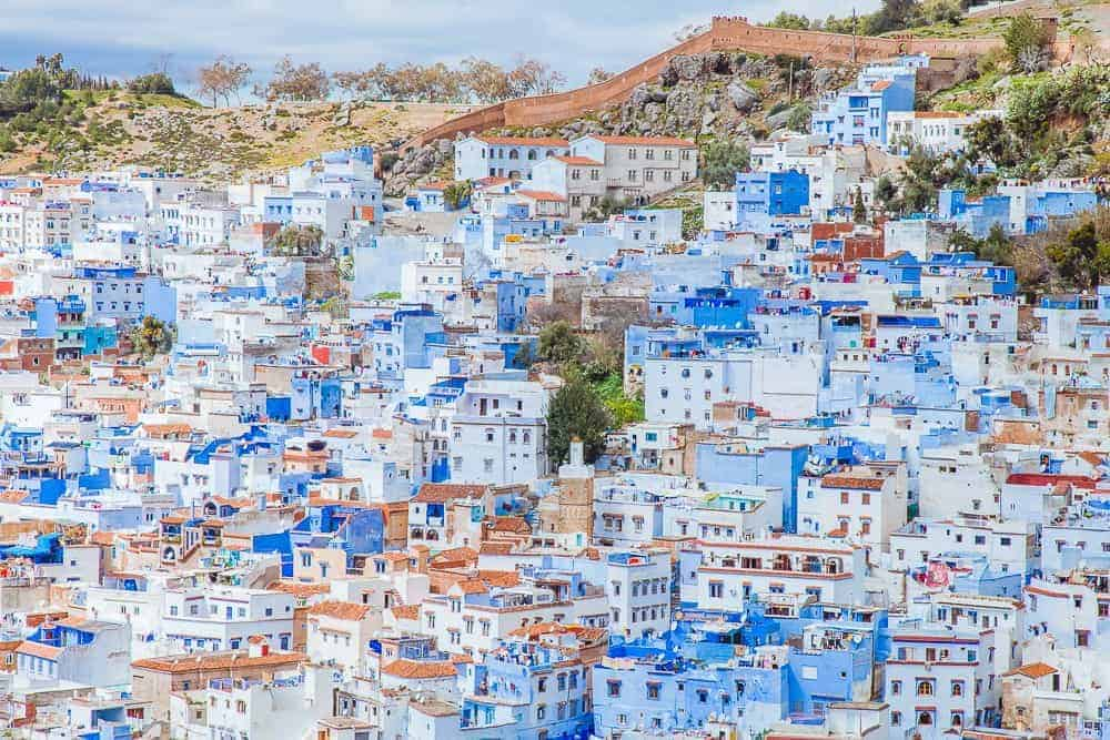 5 days in morocco chefchaouen