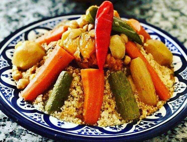 Moroccan food vegetarian