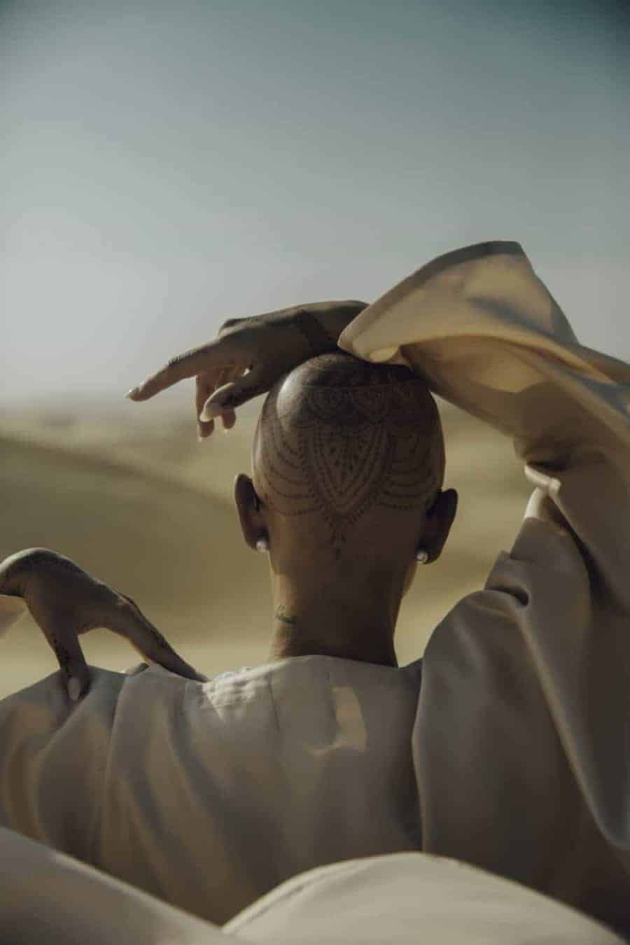 Gorgeous henna tatoo Morocco