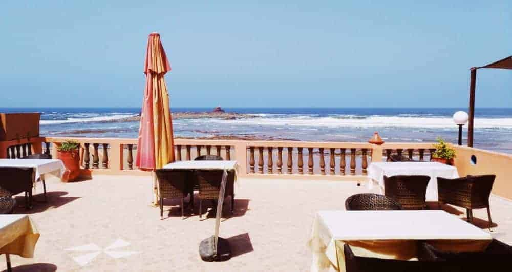 Morocco beaches resort