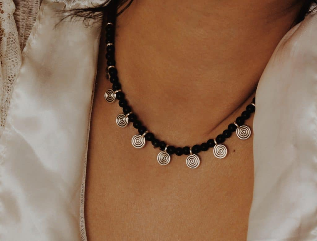 berber necklace silver