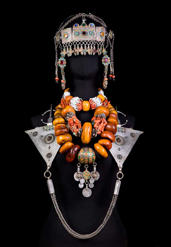 Berber Moroccan jewelry set
