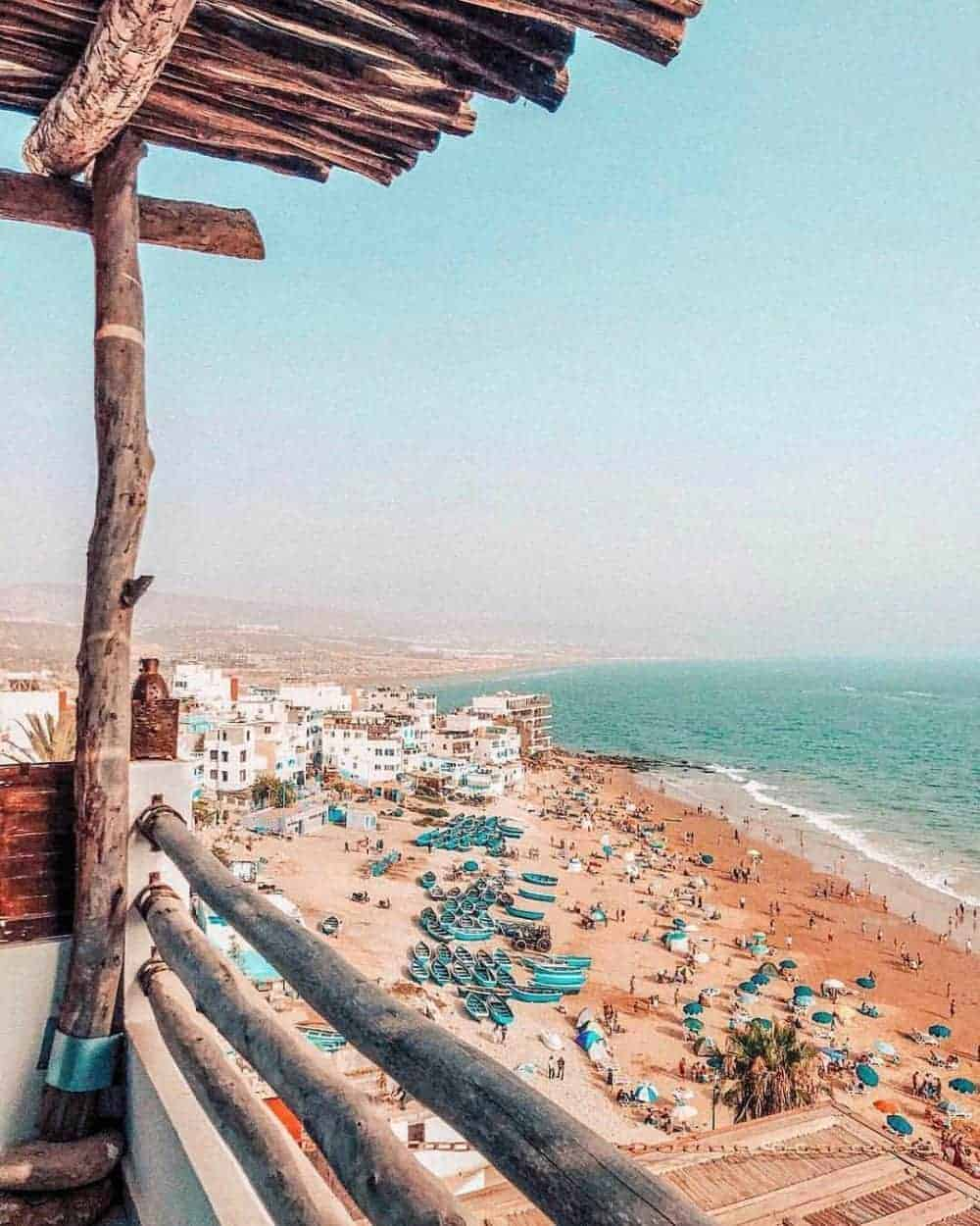 Morocco coasts at Agadir