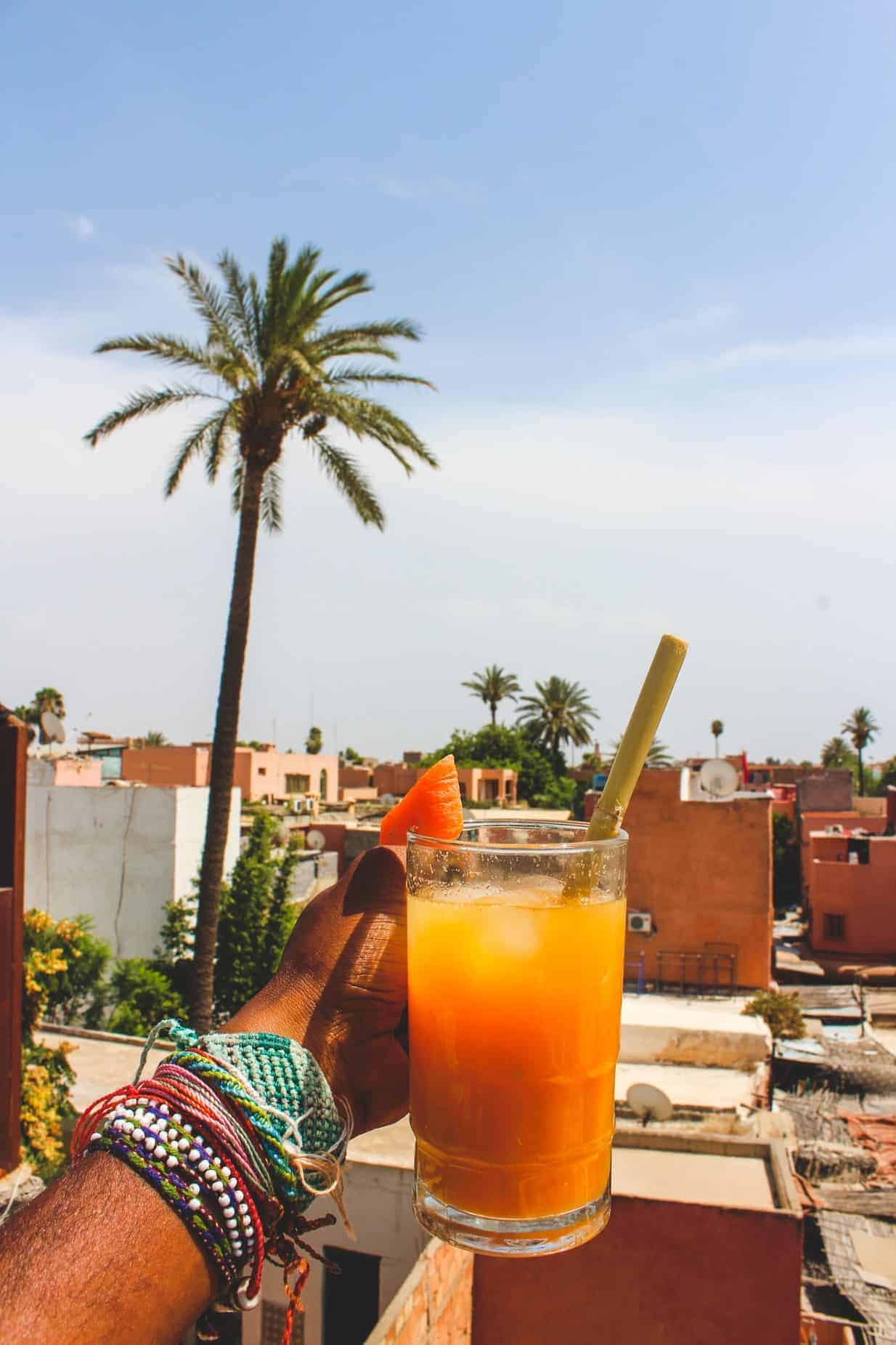 drinking alcohol morocco