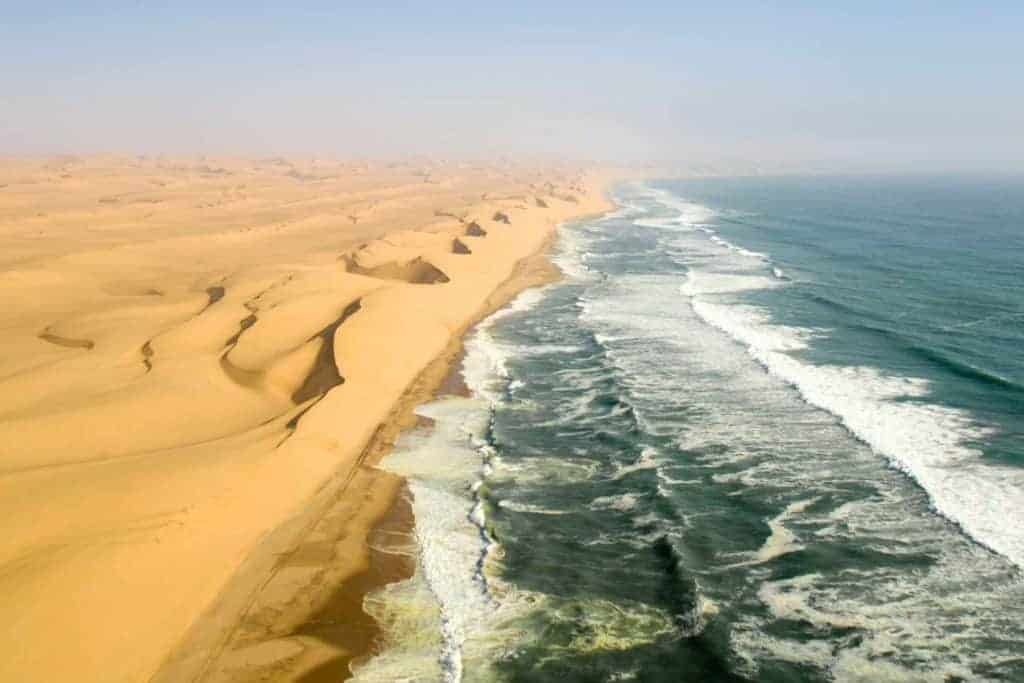 famous wild Moroccan beach