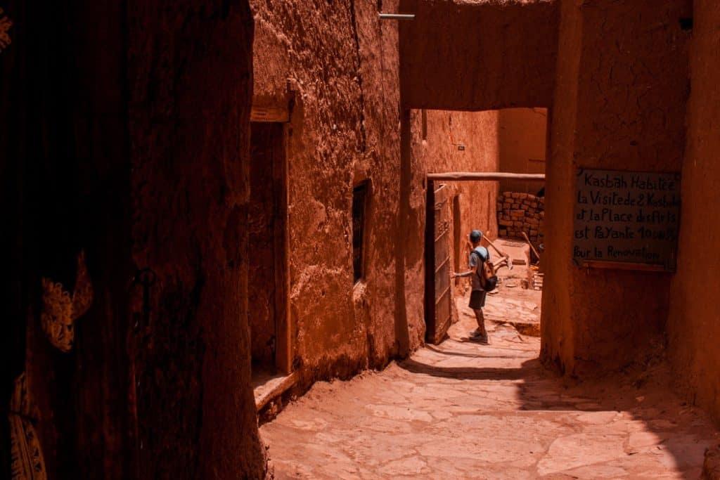 aitbenhaddou alley