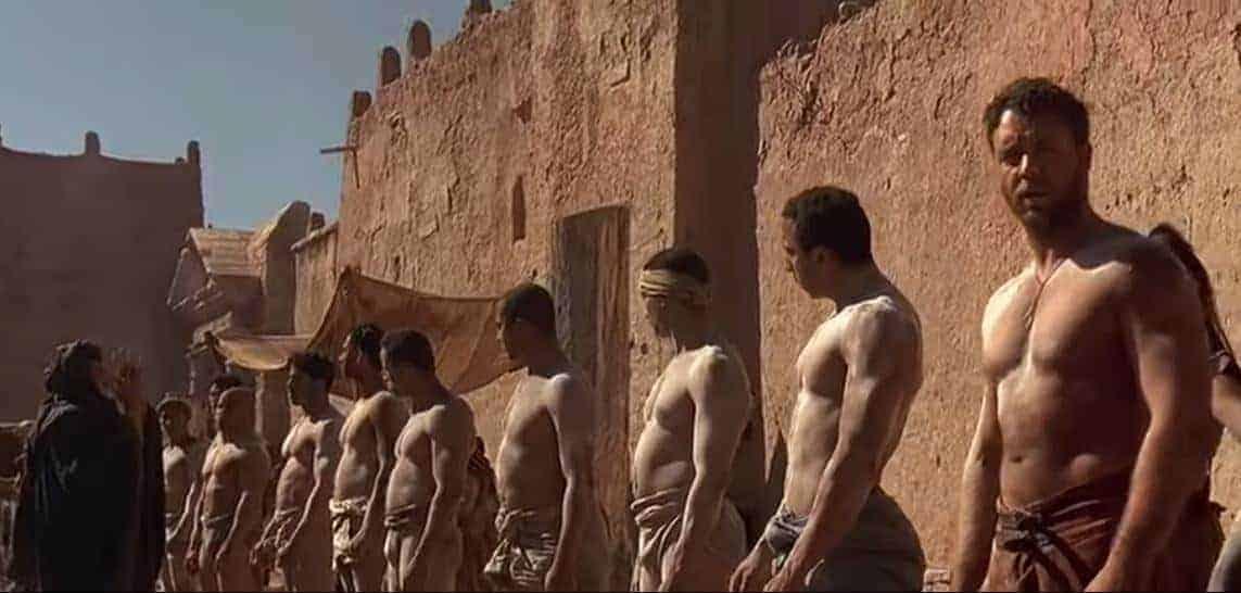 Ait Ben haddou gladiator