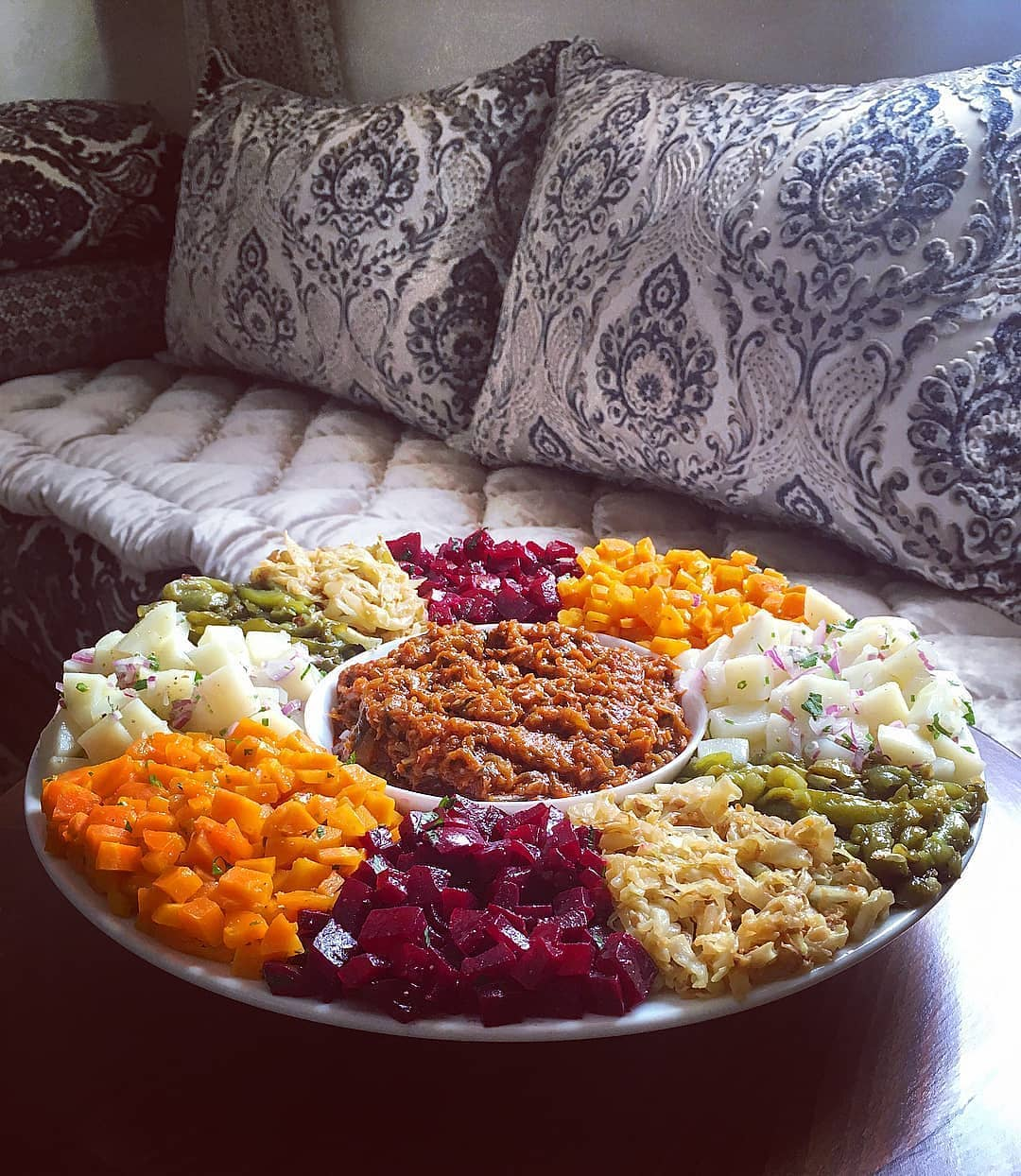 Food vegetarian in Moroccan