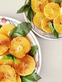 Minty Moroccan Orange Dessert