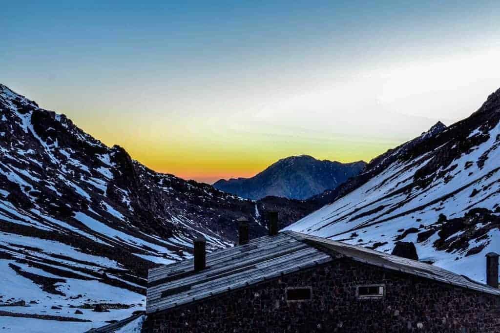famous Moroccan ski resort