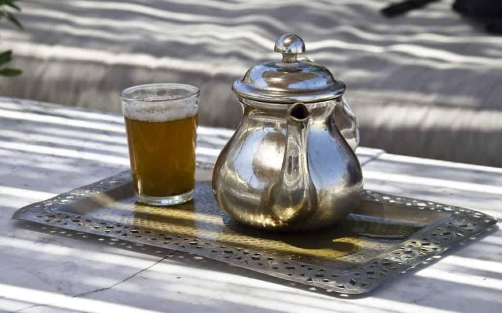 basic Moroccan teapot
