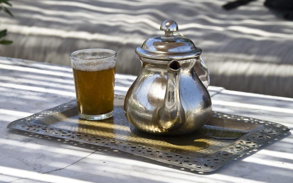 Moroccan teapot simple design