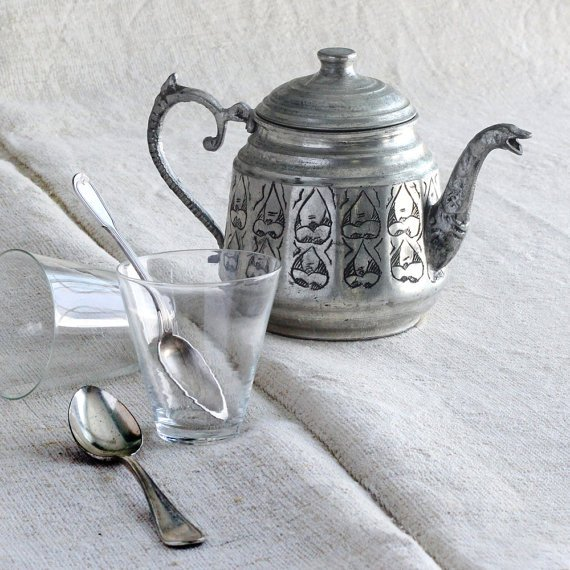 Other Reproduction Furniture Realistic Traditional Handmade Antique Tea Pot~used Only For Display~ Antique Furniture