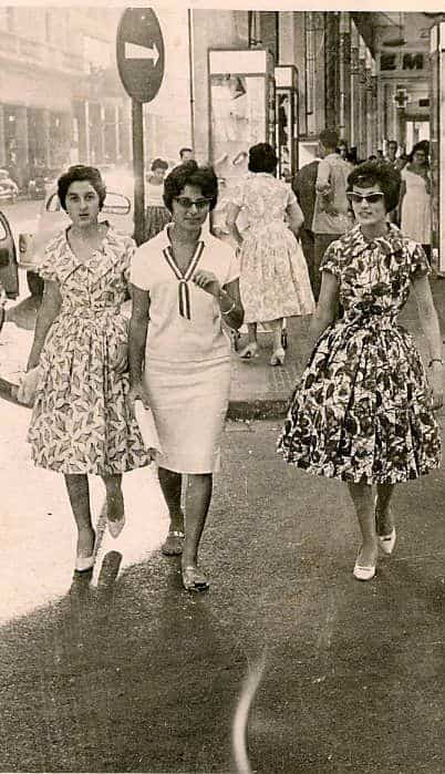 Modern Moroccan women in the 50s and 60s
