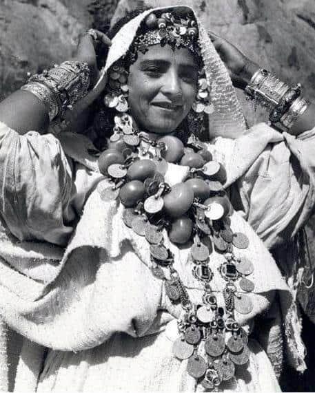 vintage Moroccan silver bracelets