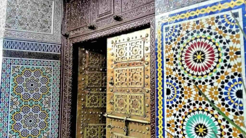 tiles in morocco