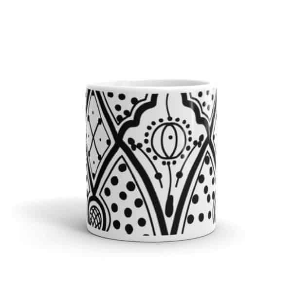 moroccan ceramic mug