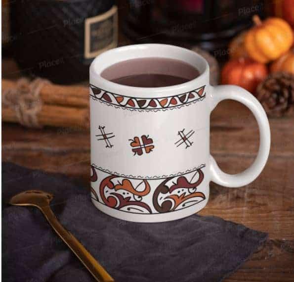 moroccan mug henna