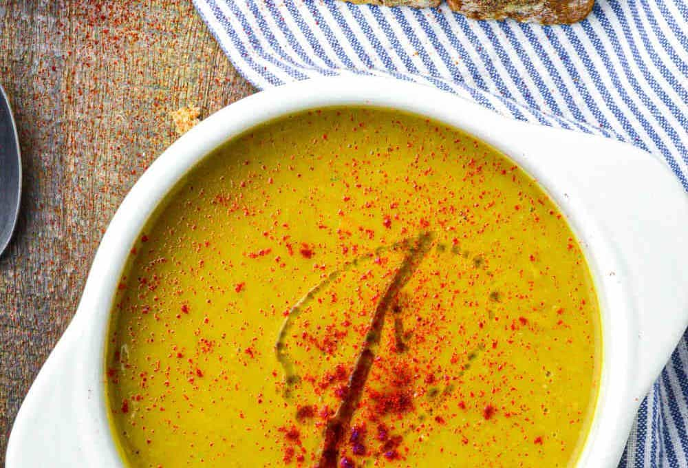"Moroccan Split Pea Soup, or ""Bissara"""