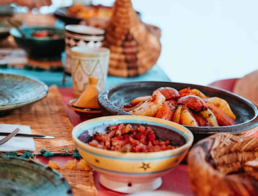 Moroccan itinerary food