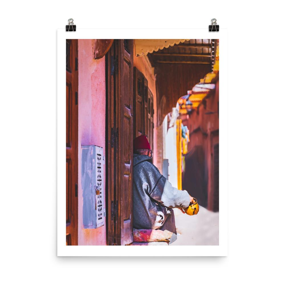 Morocco print Marrakesh