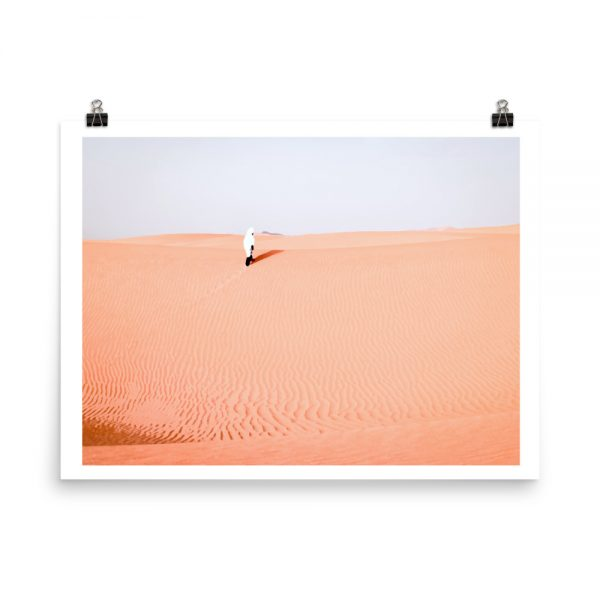 Print Moroccan desert mockup