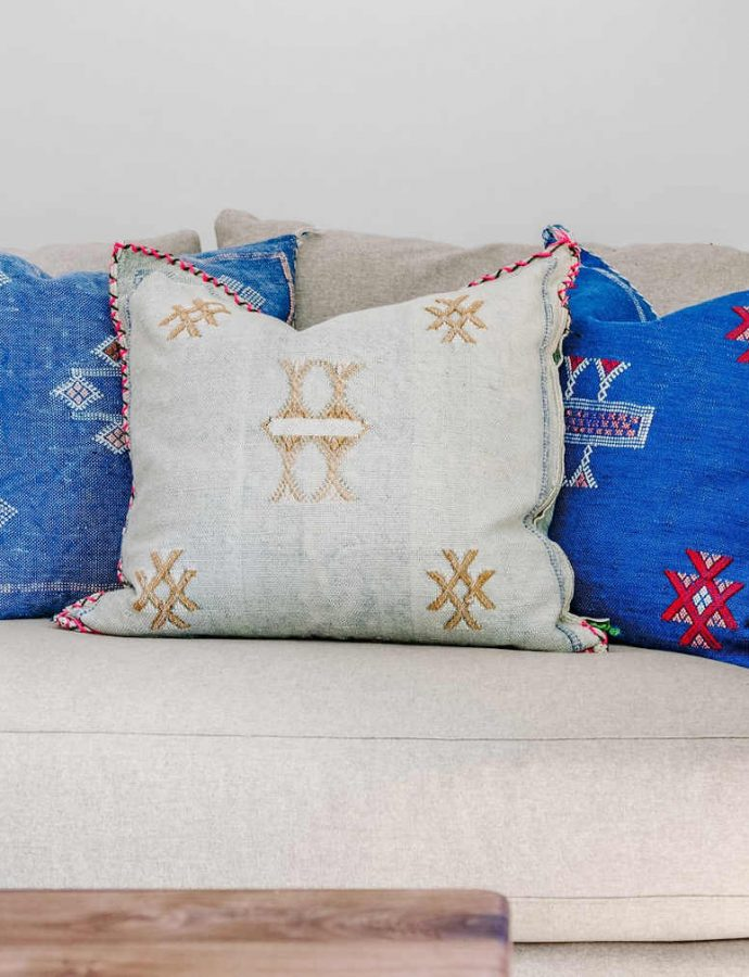 Moroccan Pillows Shopping & Care Guide