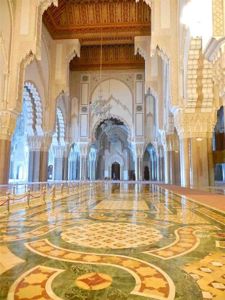 casablanca morocco itinarary