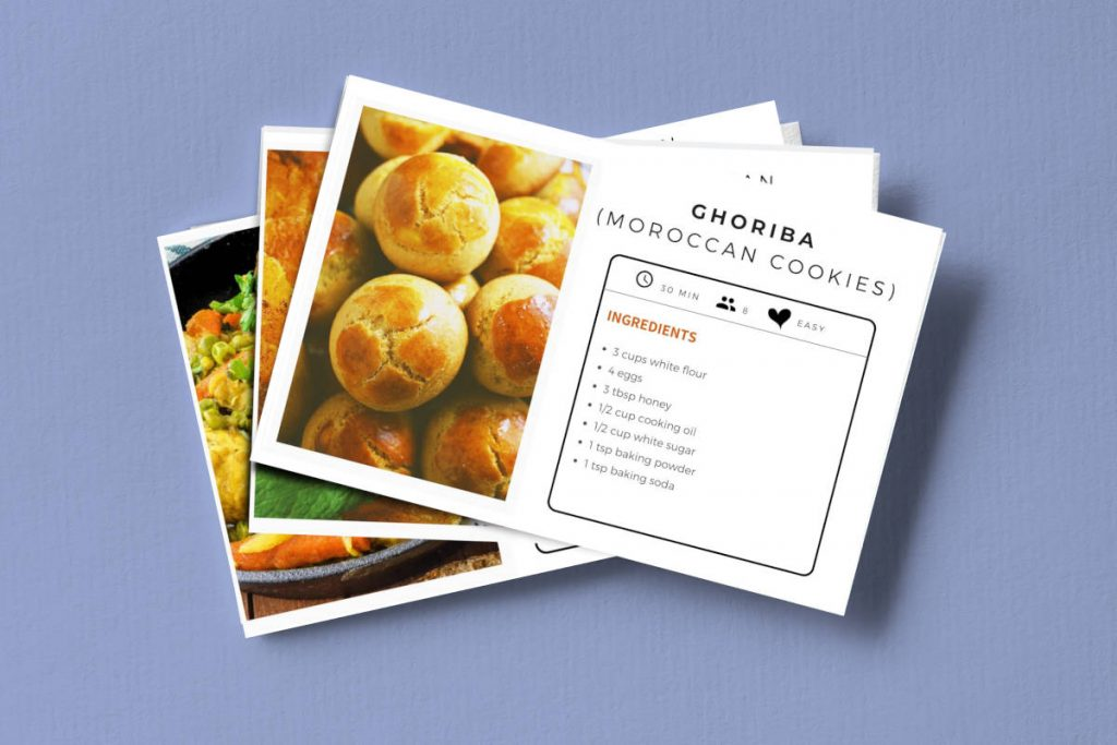 Moroccan recipes collection