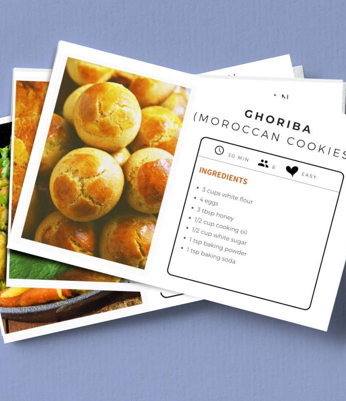 My Moroccan Recipes Cards Collection
