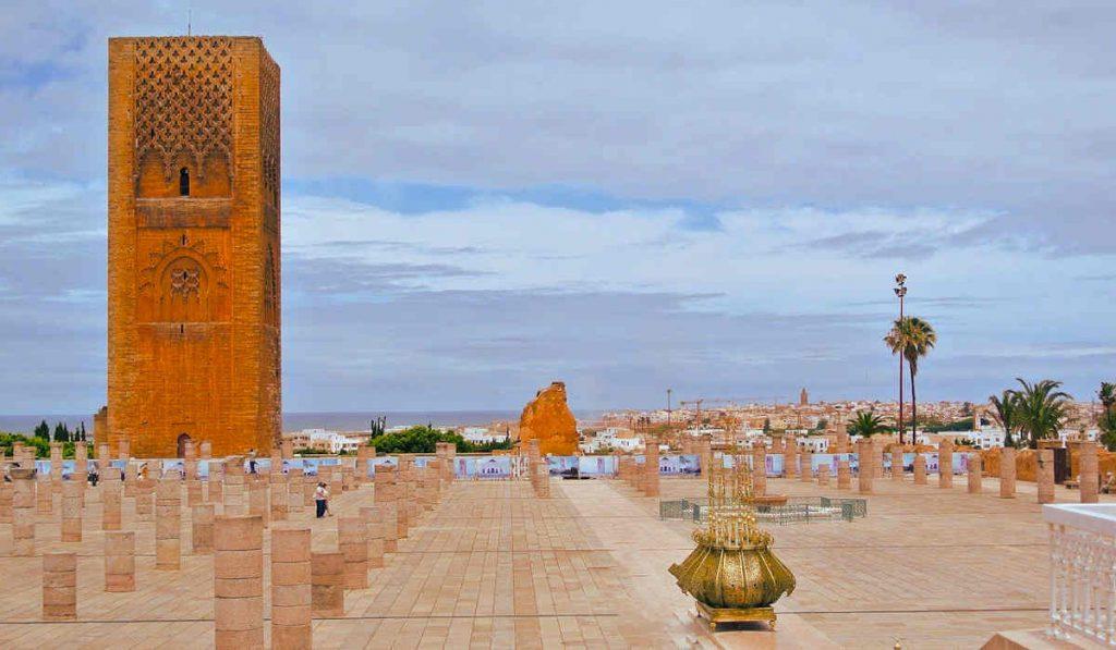 hassan tower rabat morocco