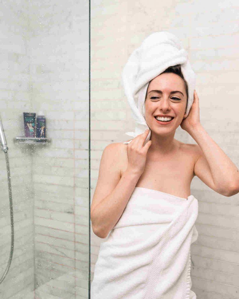 Moroccan bath hammam experience