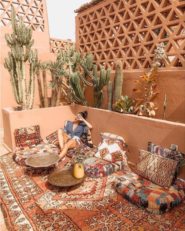 moroccan decor outdoor idea