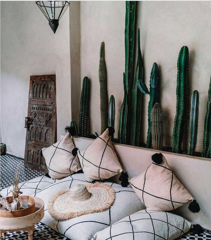 Moroccan decor outdoor