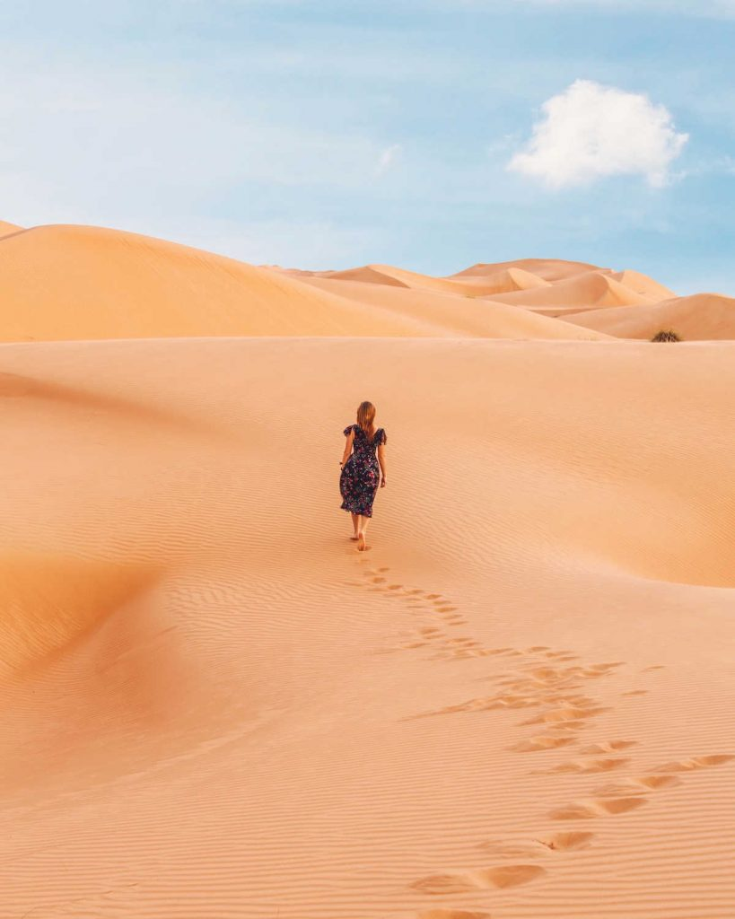 10 days Moroccan itinerary desert