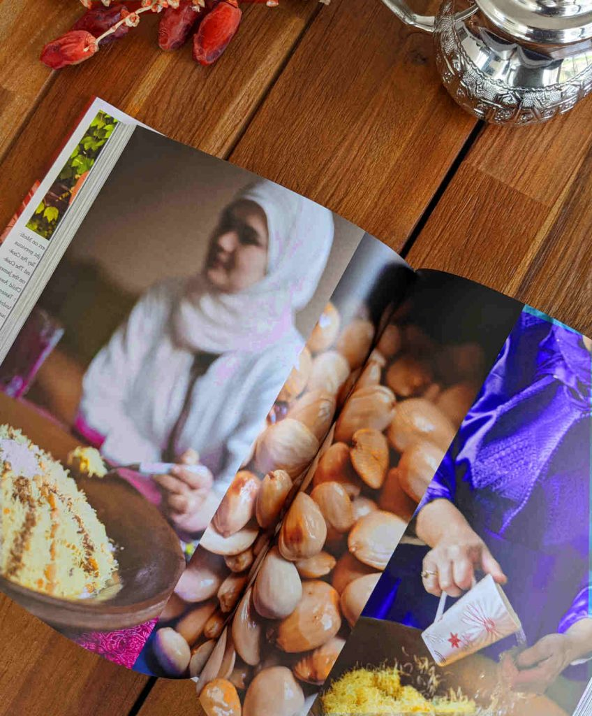 the food of Morocco cookbook