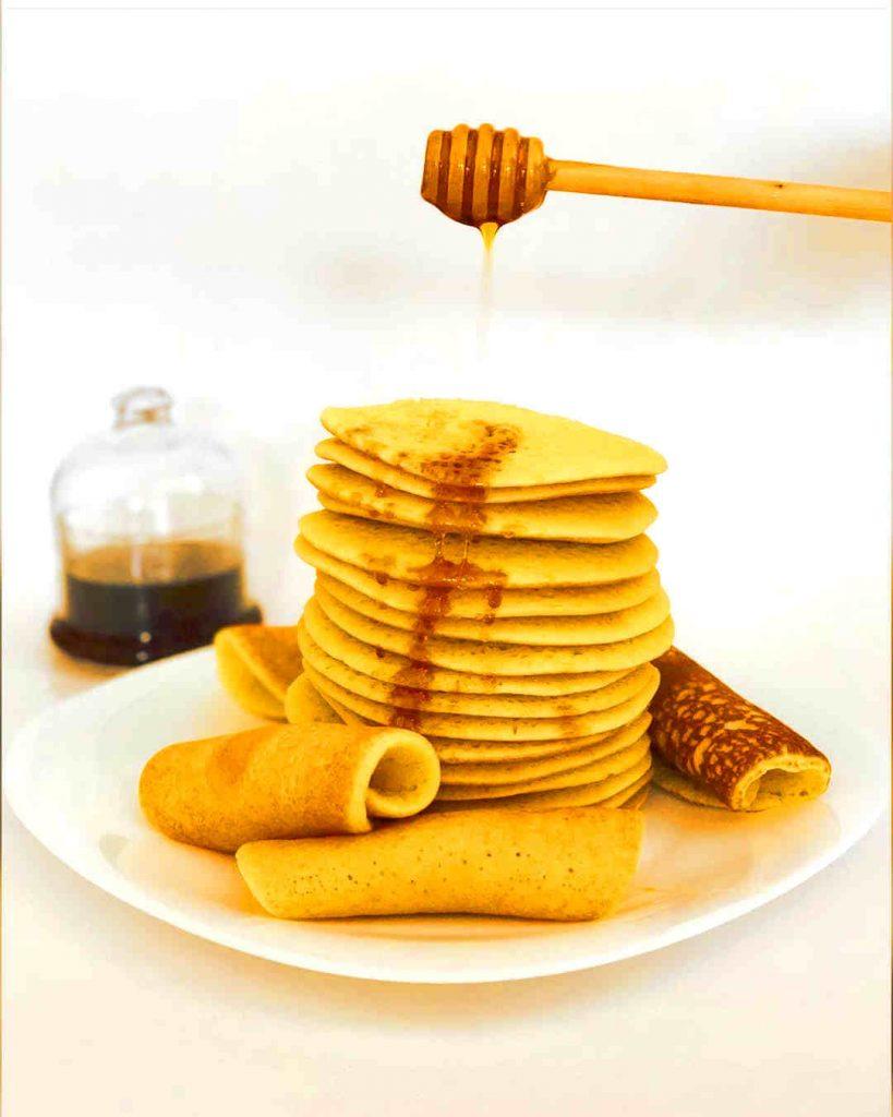 moroccan baghrir pancakes