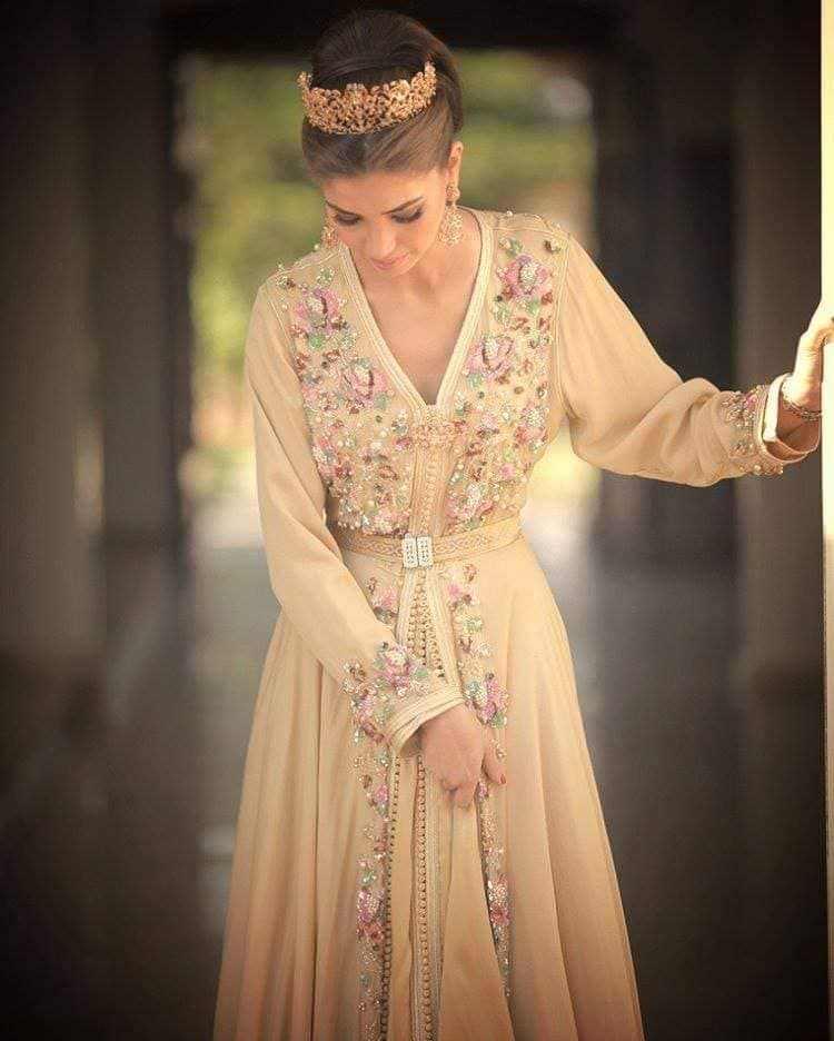 Moroccan kaftan dress