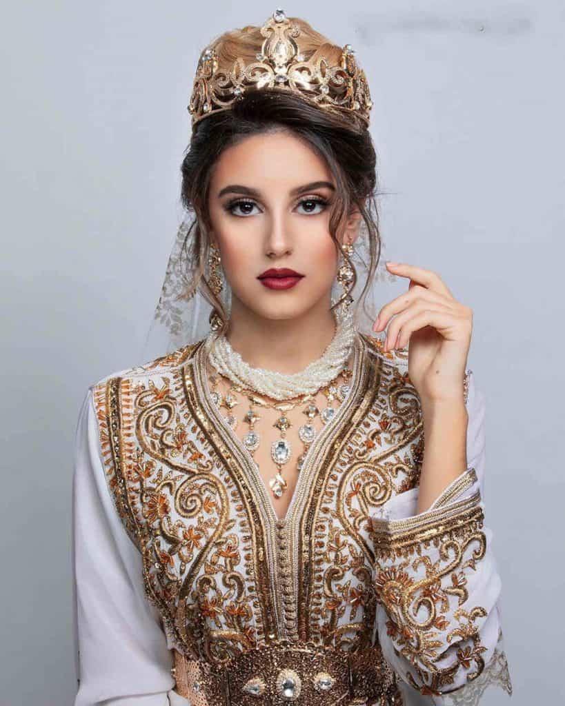 wedding kaftan dress