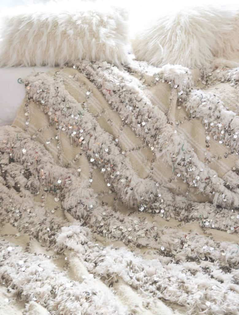 moroccan wedding blanket handira