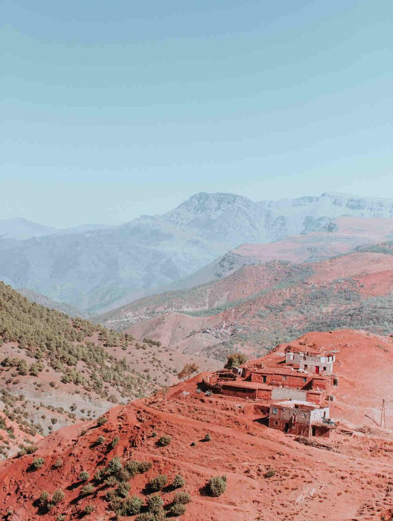 moroccan atlas mountains
