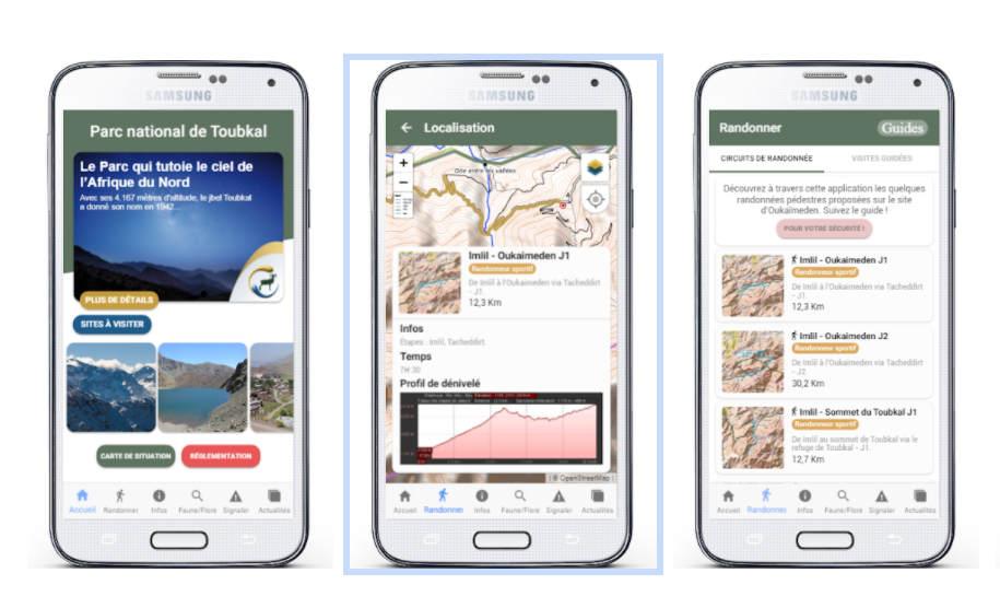 toubkal national park mobile app