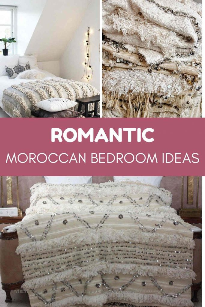 romantic bedroom ideas from Morocco
