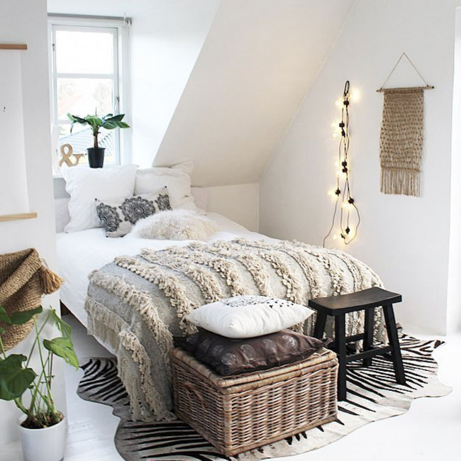 romantic bedding idea