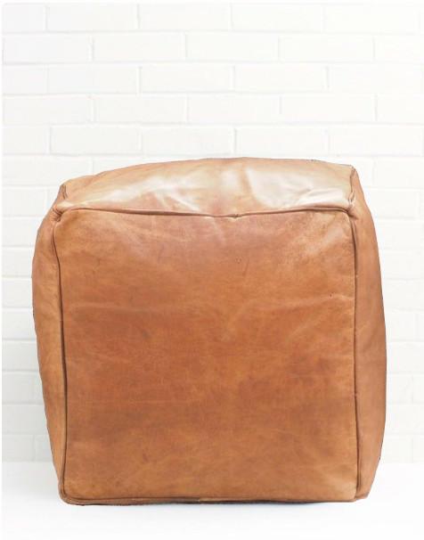 square pouf