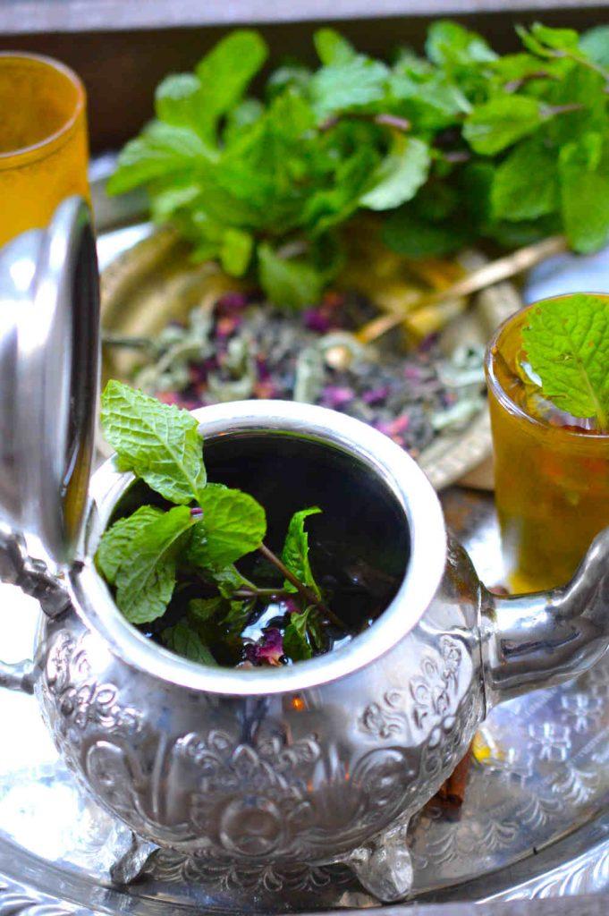 moroccan min tea during ramadan