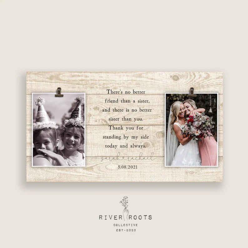Bridal gift idea frame