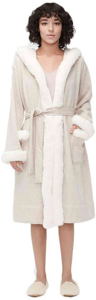 cotton robe as a gift for the bride